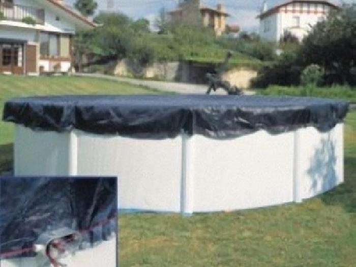 b che d 39 hivernage pour piscine hors sol 300 cm kit piscine bois. Black Bedroom Furniture Sets. Home Design Ideas