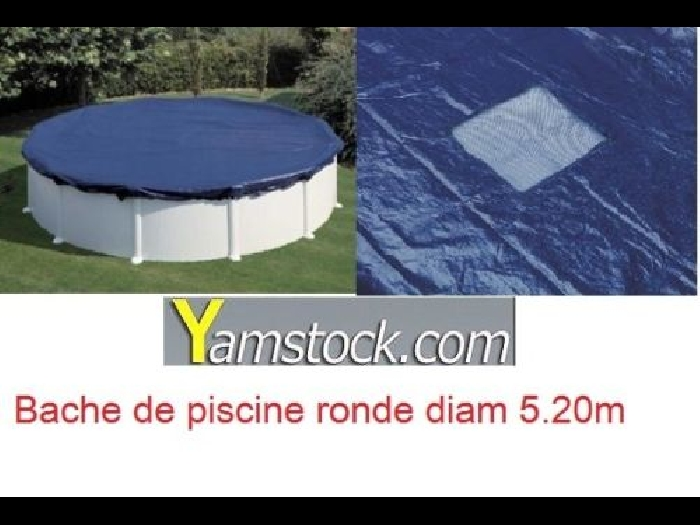 b che de piscine d 5 20 m pour piscine 4 53 m ronde hiver hors sol couverture kit piscine bois. Black Bedroom Furniture Sets. Home Design Ideas