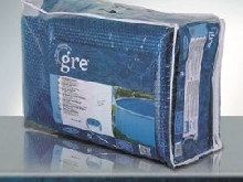 GRE POOLS - Bâche piscine ovale 730 X 375 anti U.V.A 180 microns