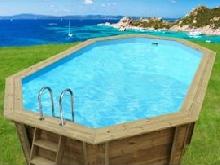 piscine bois verona - 5.10 x 1.20 m