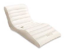 Matelas gonflable Lounge blanc - OOGARDEN