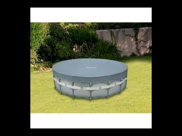 Couverture INTEX piscine hors-sol ronde Ø 5.49m