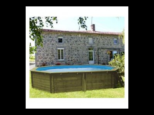 piscine bois malibu