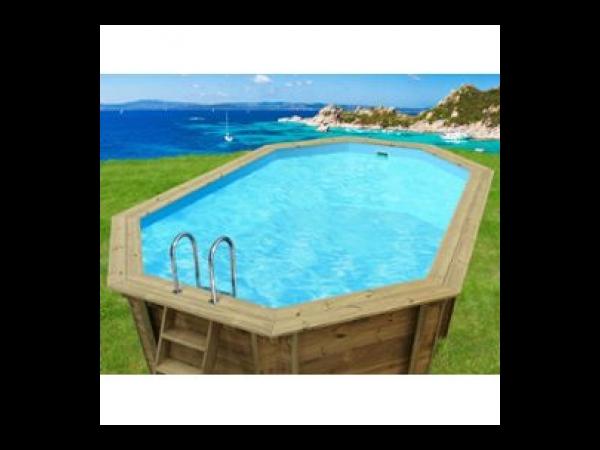 Piscine bois cordoue x x m kit piscine bois for Kit piscine bois