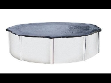 Bache d'hivernage piscine hors sol ronde 3 tailles: 3.60 - 4.60 - 5.50 m