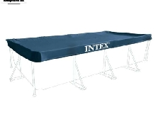 Intex 28039 Bâche de protection pour Piscine rectangulaire Bleu 450 x 220 20 cm