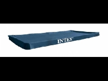 Intex 28039 Bâche de protection pour Piscine rectangulaire Bleu 450 x 220 x...