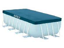 Bâche Protection Piscine Rectangulaire INTEX Bleu 3.89 x 1.84 x 0.20 m NEUF FR