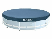 INTEX Bâche de protection Pour Piscine Tubulaire Ou gonflable Ø 457 M