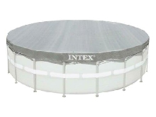 INTEX Bâche de protection Deluxe pour piscine Ø 5,49 M