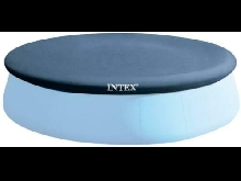 INTEX Bâche de protection Pour Piscine Autostable Ø 424x424x30 cm, Bleu