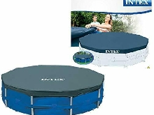INTEX Bâche de protection Pour Piscine Tubulaire Ronde 305 x 305 x 25 cm