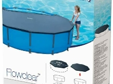 Bâche Protection Piscine Tubulaire ronde 3.05 m -5.49 m Bestway