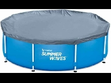 Bâche Protection Piscine Tubulaire ronde 4.57 m ou  5.49 m Summer Waves