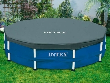 Bâche Protection Piscine Tubulaire Ronde 3.05 m INTEX