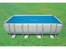 Bâche à Bulles Piscine Rectangle 5,49 x 2,74 ou 7,32 x 3,66 m Intex