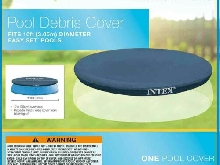 Bâche Protection Couverture Piscine Ronde Gonflable Autostable Intex 5 Tailles