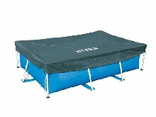 Intex Bâche de Protection pour Piscine rectangulaire 3m x 2m Bleu 300x200x20 cm
